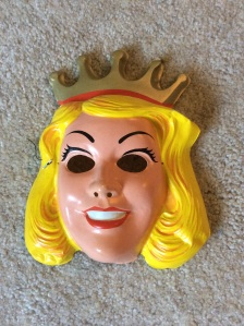 Raise your hand if you were a princess for Halloween. I had this exact mask!
