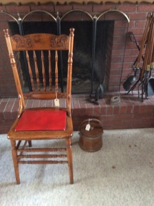This chair is over 100 years old. Great condition.