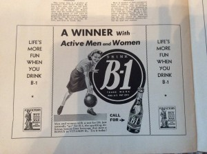 Speaking of vitamins, the current energy drink fad isn't new, folks.