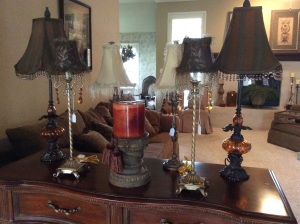 Oh, and we have lots and lots of decorative lamps and home decor.