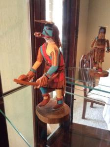 Red Tail Hawk Kuchina doll hand carved by Milton Takala.