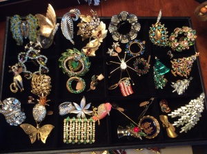 Some of the most beautiful and unique  costume broaches.